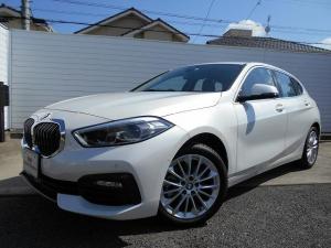 BMW 1シリーズ 118d プレイ エディションジョイ+ ハイラインP 17AWプラスPKG黒革パノラマガラスサンルーフACCデモカー認定中古車