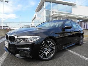 BMW 5シリーズ 530iツーリング Mスポーツ 19AW黒革ウッドPヘッドUPディスプレイACCデモカー認定中古車