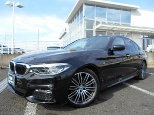 BMW 5シリーズ 523d Mスポーツ 19AWハイラインPKG黒革コンフォートPKG1オーナー認定中古車