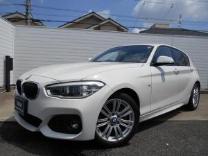 BMW 1シリーズ 118d Mスポーツ 17AWパーキングサポートPKG社外DTVドラレコ禁煙1オーナー認定中古車