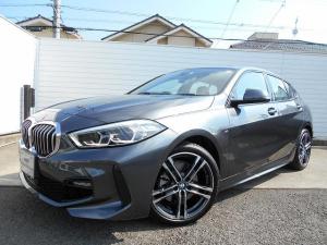 BMW 1シリーズ 118d Mスポーツ 18AWパノラマガラスサンルーフコンフォートPKG運転席電動シートデモカー認定中古車
