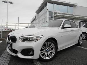 BMW 1シリーズ 118d Mスポーツ 17AWコンフォートPKGアドバンスドパーキングサポートPKG衝突軽減ACCドラレコ禁煙1オーナー認定中古車