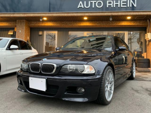 BMW M3 M3 SMGII 最終型 右H CSL純正トランクリッド&19AW カロッツェリアHDDナビ