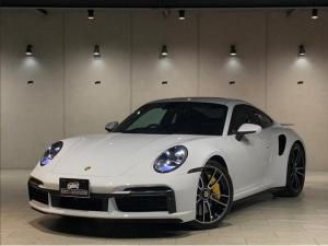 ポルシェ 911 911ターボS 1オーナー 新車保証 PASM スポーツエグゾーストシートベンチレーション