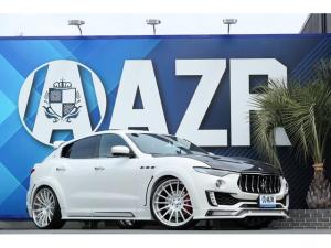 マセラティ レヴァンテ S 正規ディーラー車 ZERODESIGNカーボン SKYFORGED S210 ローダウン カーボンインテリア カーボンステアリング パノラマルーフ HarmanKardonサウンドシステム