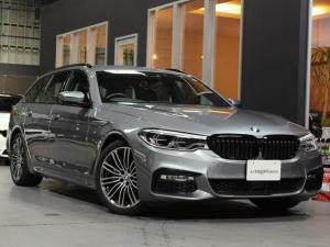 BMW 5シリーズ 523iツーリング Mスポーツ ハイライン 黒革 保証 禁煙