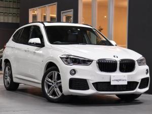 BMW X1 xDrive 18d Mスポーツ 1オナ セレクトPKG パノラマSR付 最終モデル HUディスプレイ 電動ゲート シートH LEDヘッド 前後Pセンサー 純正タッチナビ/BT/Bカメラ ACC/インテリセーフ 4WD 新車保証 禁煙