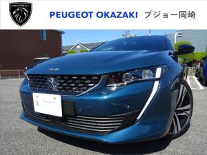 プジョー 508 SW GT ブルーHDiプレミアムレザーエディション 登録済未使用車 22Km CarPlay 新車保証継承