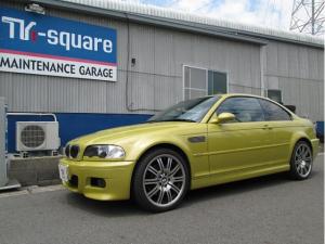 BMW M3 M3 SMGII ドライブレコーダー サンルーフ  オートライト HID  ヘッドライトウォッシャー 革シート シートヒーター DVD再生 CD MD