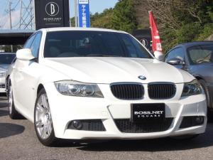 BMW 3シリーズ 320i Mスポーツ プラス ワンオーナー車 後期モデル 黒革シート&フロントパワーシート&D2メモリ付&シートヒータ ディーラ整備記録H24&25&26&28&30年 純正HDDナビ&DVD再生 キセノン キーレス2本
