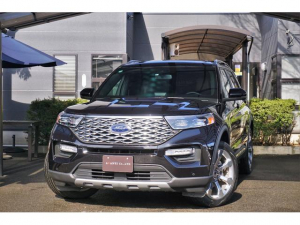 フォード エクスプローラー  プラチナム 3.0 エコブースト 2020年モデル ツインムーンルーフ 21インチAW B&Oサウンド