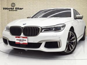 BMW 7シリーズ M760Li xDrive スカイラウンジパノラマSR MエアロダイナミクスPKG 20インチMライトアロイダブルスポークAWスタイリング760M BMWレ-ザーライト コニャックレザーシート 前後シートH ベンチレーター