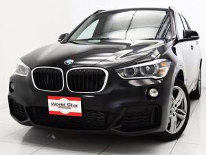 BMW X1 xDrive 18d Mスポーツ セレクトPKG 電動パノラマSR コンフォートアクセス ブラックレザーシート シートH パワートランク LEDヘッドライト メモリー付きパワーシート レザーステアリング 前後パークセンサー Bカメラ