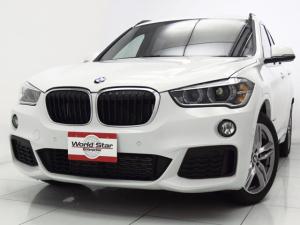 BMW X1 xDrive 18d Mスポーツ ハイラインPKG MエアロダイナミクスPKG 18インチMライトダブルスポークAW ブラックダコタレザーシート シートH 電動フロントシート 自動防眩ミラー Mスポーツレザーステアリング 禁煙車