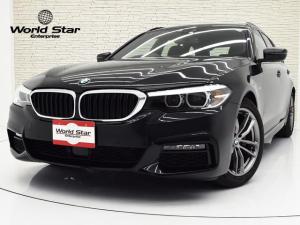 BMW 5シリーズ 523dツーリング Mスピリット 特別仕様車 18インチAW 前後パークセンサー Bカメラ ドライビングアシストプラス ブラックファブリックシート ACC 自動防眩ミラー インテリジェントセーフティ レザーステアリング 純正ナビ
