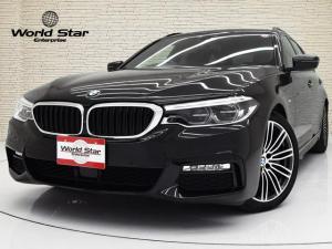 BMW 5シリーズ 530iツーリング Mスポーツ 電動ガラスSR MエアロダイナミクスPKG 19インチMライトダブルスポークスタイリング664MAW アダプティブLEDヘッドライト ブラックダコタレザーシート 前後シートH コンフォートアクセス