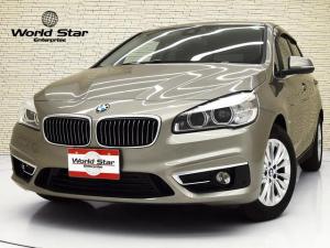 BMW 2シリーズ 218dアクティブツアラー ラグジュアリー パーキングサポートPKG コンフォートPKG アドバンストアクティブセーフティPKG LEDヘッドライト 16インチAW ブラックダコタレザーシート シートH 自動防眩ミラー メモリー付きパワーシート