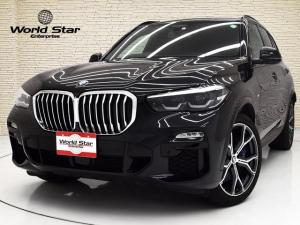 BMW X5 xDrive 35d Mスポーツ スカイラウンジパノラマSR 22インチMライトアロイダブルスポークAW プラスPKG ポプラグレインアンソラジットブラウンファインウッドインテリアトリム トップ3Dビューサイドリヤカメラ 禁煙車