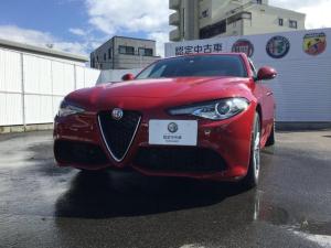 アルファロメオ ジュリア ヴェローチェメンテナンスパック付ETC元試乗車認定中古車保証