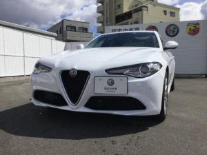 アルファロメオ ジュリア DIESEL ETC 元試乗車 認定中古車保証