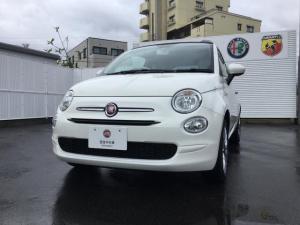 フィアット 500C スーパーイタリアン 50台限定車 元試乗車 認定中古車保証