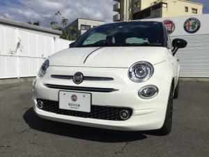 フィアット 500 120thタキシード 限定車 認定中古車保証