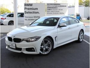 BMW 4シリーズ 420iグランクーペ Mスピリット 弊社レンタカー 地デジ