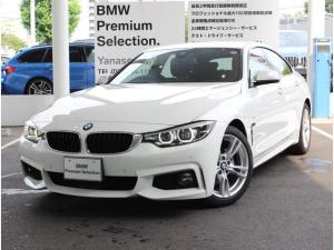 BMW 4シリーズ 420iグランクーペ Mスピリット 弊社レンタカー使用車 純正地デジチューナー付き Mスピリット仕様