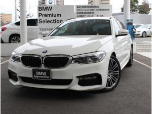 BMW 5シリーズ 523iツーリング Mスポーツ ワンオーナー車 メーカー認定中古 保証1年車両 19AW 地デジ ETC 禁煙(アルピンホワイト)