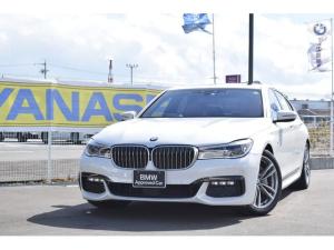 BMW 7シリーズ 740i Mスポーツ 認定中古車全国1年保証付 アクティブクルーズコントロール ワンオーナー車