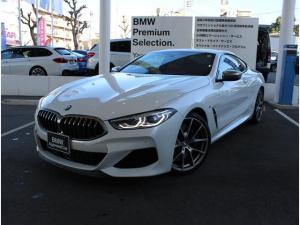 BMW 8シリーズ M850i xDriveクーペ ワンオーナー車 20インチホイール 赤レザーシート ドラレコ レーダー付