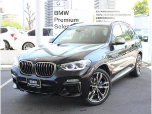 BMW X3 M40d ワンオーナー車 モカレザー セレクトパッケージ付 リヤシートアジャスメント付