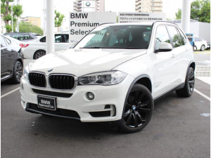 BMW X5 xDrive 35d ワンオーナー車 ブラックレザー ブラックホイール セレクトパッケージ付