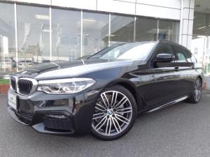 BMW 5シリーズ 523dツーリングMスポーツ黒革ハイラインPデモカー認定車