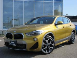 BMW X2 sDrive 18i MスポーツX LEDヘッドライト 19インチMアロイホイール オートトランク シートヒーター 禁煙車 2年保証