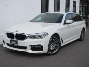 BMW 5シリーズ 523iツーリング Mスポーツ ハイラインパッケージ ブラックレザーシート シートヒーター LEDヘッドライト アクティブクルーズコントロール ワンオーナー 禁煙車 1年保証