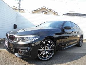 BMW 5シリーズ 530i Mスポーツ ブラックレザーシート シートヒーター LEDヘッドライト 20インチアルミ スマートキー オートトランク ワンオーナー 1年保証
