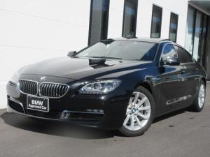 BMW 6シリーズ 640iグランクーペ コンフォートパッケージ ブラックレザーシート ベンチレーションシート LEDヘッドライト アクティブクルーズコントロール 1年保証