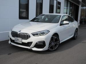 BMW 2シリーズ 218iグランクーペ Mスポーツ LEDヘッドライト アクティブクルーズコントロール ワイヤレスチャージ 運転席電動シート デモカー 2年保証
