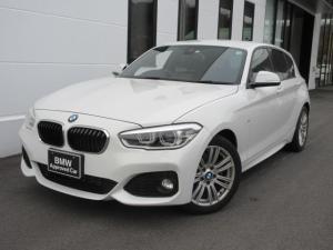 BMW 1シリーズ 118i Mスポーツ LEDヘッドライト 17インチMアロイホイール コンフォートパッケージ パーキングサポートパッケージ ワンオーナー禁煙車 1年保証
