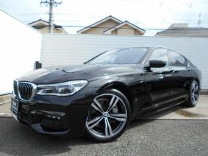 BMW 7シリーズ 740d xDrive Mスポーツ レーザーヘッドライト 20インチAW ブラウンレザーシート ベンチレーションシート ドライブレコーダー ワンオーナー 禁煙車 1年保証