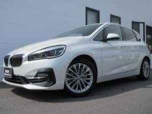 BMW 2シリーズ 218dアクティブツアラー ラグジュアリー LEDヘッドライト ブラックレザーシート 電動シート シートヒーター ワンオーナー 禁煙車 1年保証