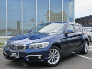 BMW 1シリーズ 118d スタイル LEDヘッドライト バックカメラ コンフォートアクセス 4ゾーンオートエアコン 16インチAW ワンオーナー禁煙車 1年保証