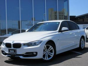 BMW 3シリーズ 320i スポーツ アクティブクルーズコントロール 衝突軽減ブレーキ 車線逸脱警告 キセノンヘッドライト 17インチAW ハンズフリー ワンオーナー禁煙車 1年保証