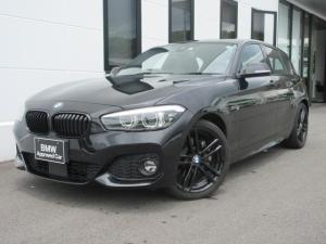 BMW 1シリーズ 118d Mスポーツ エディションシャドー アップグレードパッケージ 黒レザー シートヒーター 電動パワーシート アクティブクルーズコントロール LEDヘッドライト 専用18インチAW 元レンタカー 1年保証