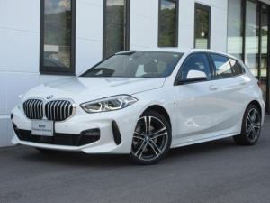 BMW 1シリーズ 118i Mスポーツ ナビゲーションPKG コンフォートPKG アクティブクルーズコントロール バックカメラ ミラー内蔵ETC 電動トランク ワイヤレスチャージ 運転席電動シート LEDヘッドライト デモカー禁煙 2年保証