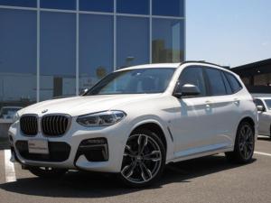 BMW X3 M40i モカレザーシート ベンチレーションシート セレクトPKG パノラマガラスサンルーフ ヘッドアップディスプレイ LEDヘッドライト ワイヤレスチャージ 21インチAW 禁煙車 2年保証