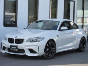 BMW M2 ベースグレード 7速DCT ブラックレザーシート シートヒーター キセノンヘッドライト 19インチAW バックカメラ コンフォートアクセス 社外ドラレコ ワンオーナー禁煙車 1年保証