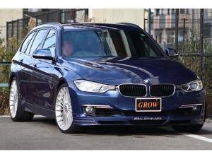 BMWアルピナ B3 ビターボ ツーリング 410ps3L直列6気筒ツインターボ/ALPINA専用エアロ/アルピナクラシックホイール/Akrapovicマフラー/ブルーキャリパー/ALPINA専用ステアリングホイール/ALPINA専用トリム