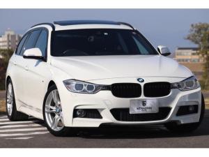 BMW 3シリーズ 320dツーリング Mスポーツ 黒革フルレザー パノラマサンルーフ 純正HDDナビ Bカメラ インテリジェントセーフティ PDC 純正18AW 電動テールゲート レーンディパーチャーウォーニング コンフォートアクセス